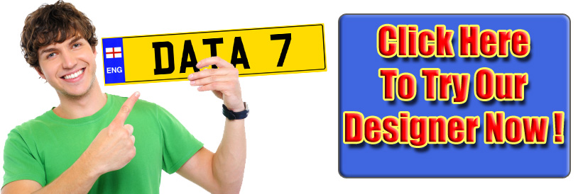 Try our Showplate and Number Plate Builder